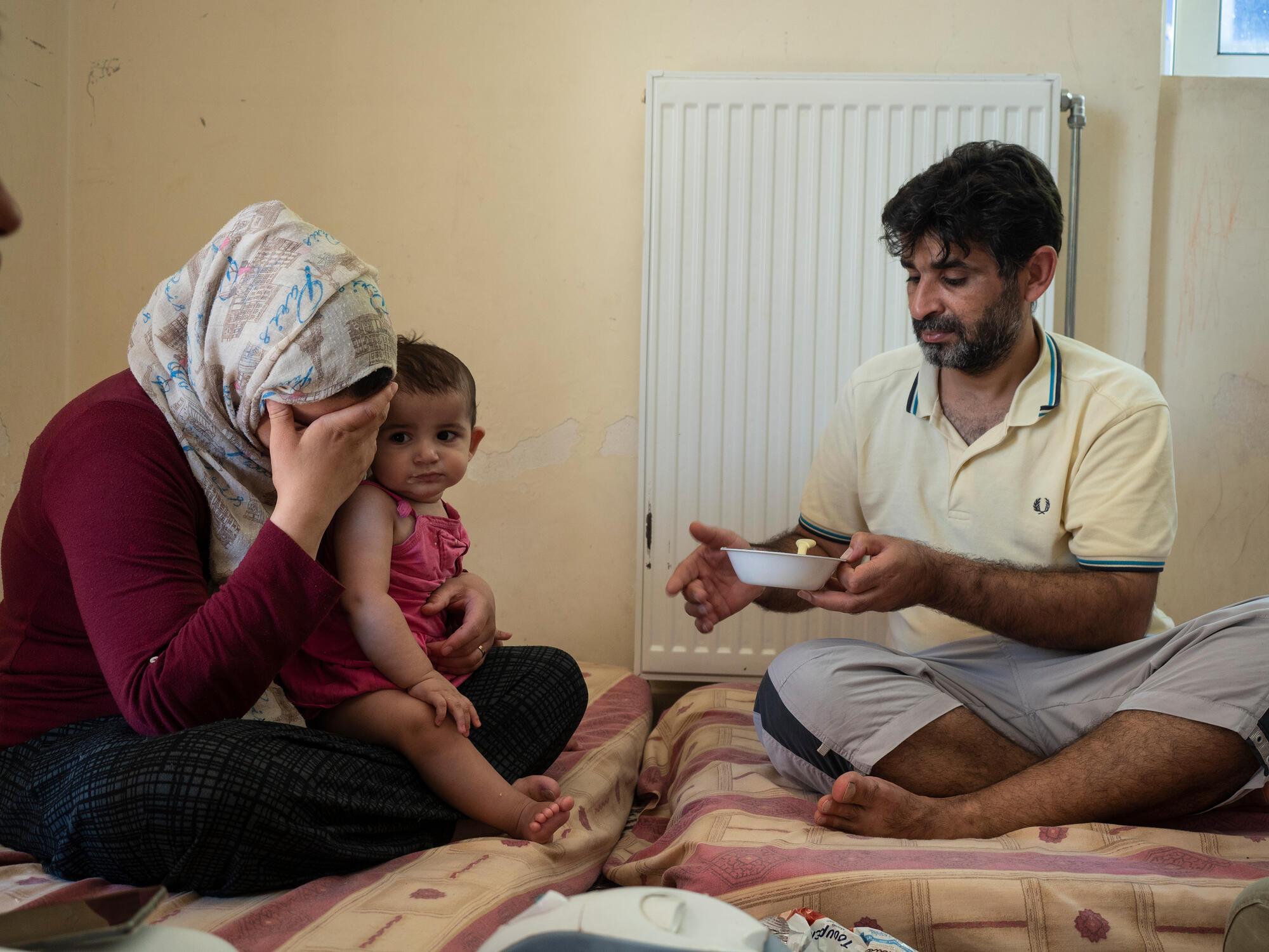 Portrait de Dalal et sa famille, août 2020, crédit : Enri CANAJ/MAGNUM Photos