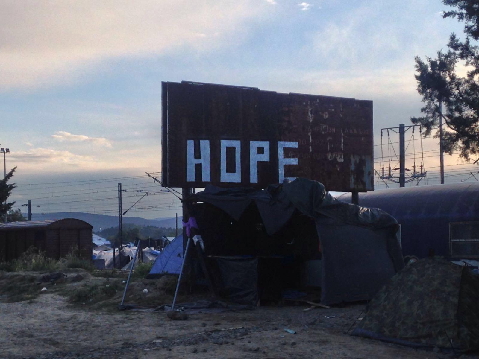 Près du camp d'Idomeni, mai 2016. ©MSF